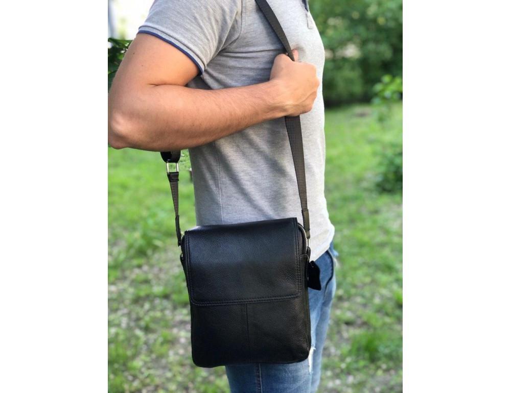Мужская сумка через плечо на три отделения TIDING BAG M38-3508A - Фото № 2