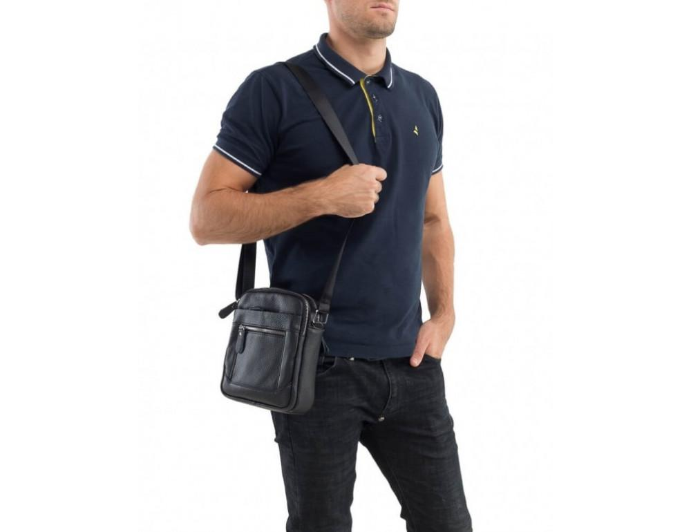 Мужская сумка-мессенджер из кожи TIDING BAG M38-3922A - Фото № 2