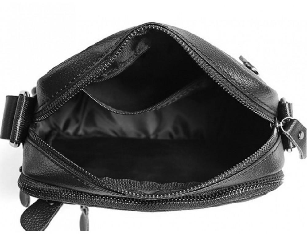 Мужская сумка-мессенджер из кожи TIDING BAG M38-3922A - Фото № 4