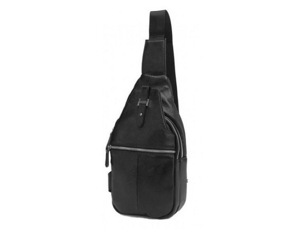 Чоловіча шкіряна сумка рюкзак TIDING BAG M38-8151A - Фотографія № 1
