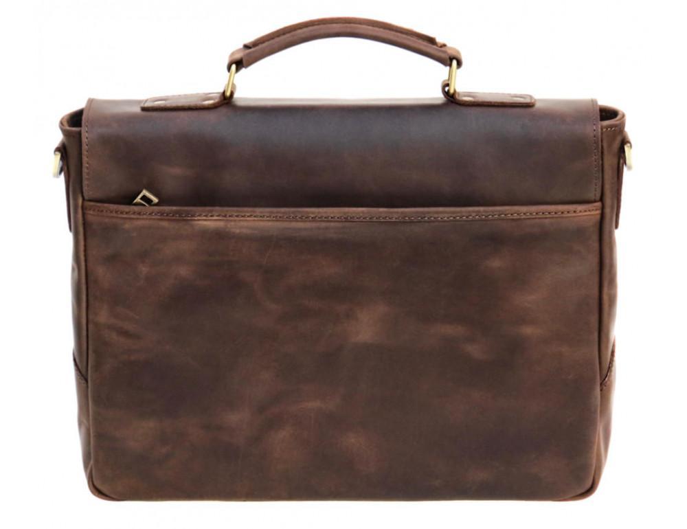 Коричневый мужской портфель TARWA RС-3960-4lx   - Фото № 4
