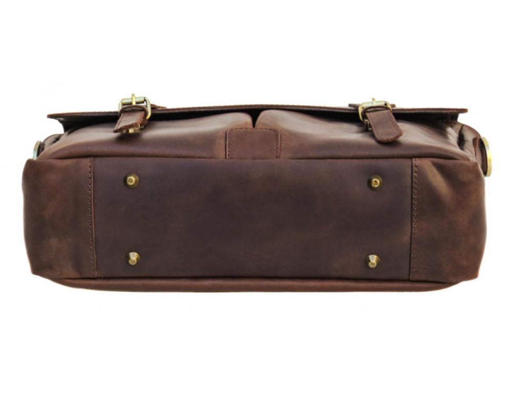 Коричневый мужской портфель TARWA RС-3960-4lx   - Фото № 8