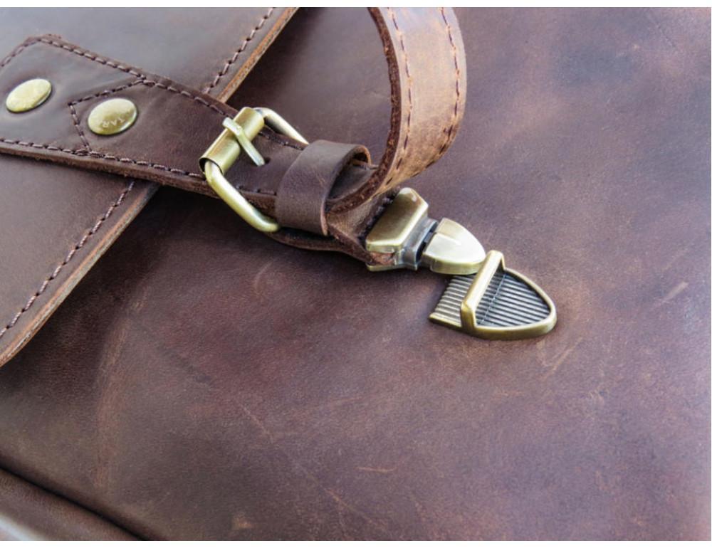 Коричневый мужской портфель TARWA RС-3960-4lx   - Фото № 11