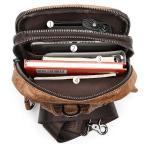 Светло-коричневая сумка через плечо Tiding Bag 4006С - Фото № 101