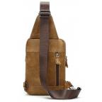 Светло-коричневая сумка через плечо Tiding Bag 4006С - Фото № 102