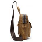 Светло-коричневая сумка через плечо Tiding Bag 4006С - Фото № 103