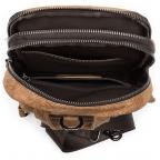 Светло-коричневая сумка через плечо Tiding Bag 4006С - Фото № 105