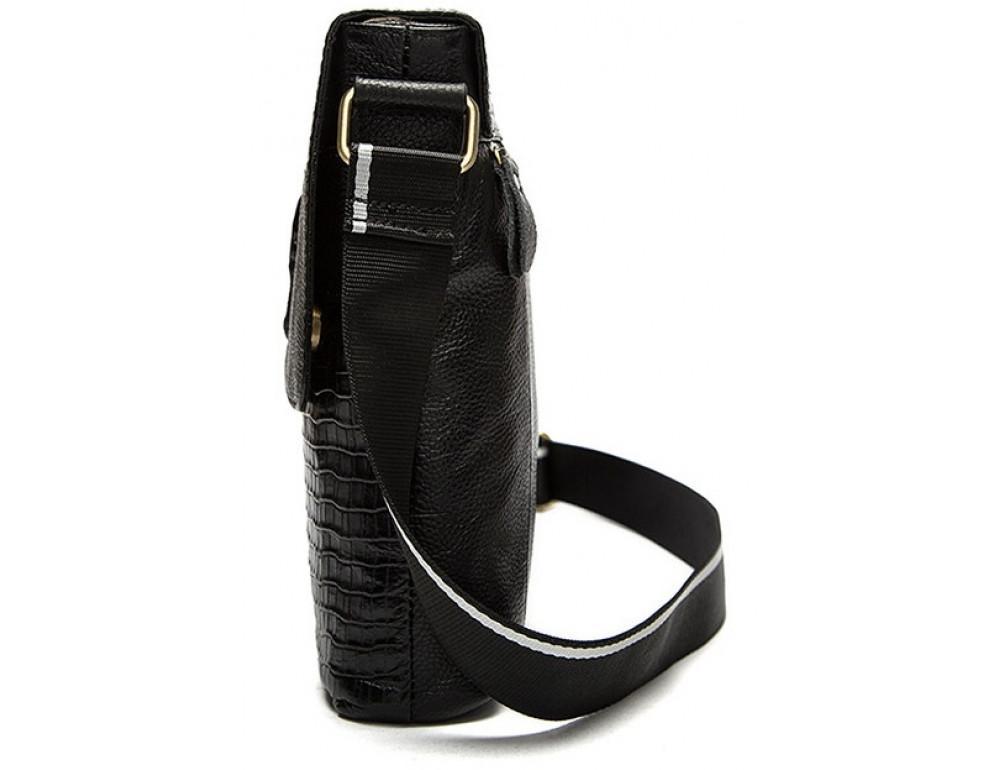 Чёрная сумка через плечо Tiding Bag 4010A - Фото № 4