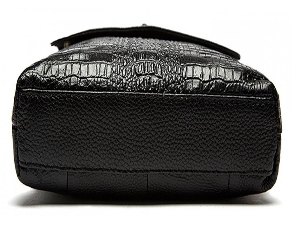 Чёрная сумка через плечо Tiding Bag 4010A - Фото № 5