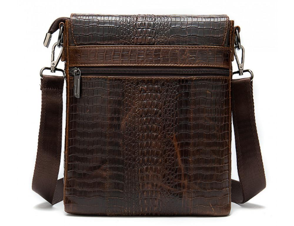 Коричневая сумка через плечо Tiding Bag 4010C - Фото № 2