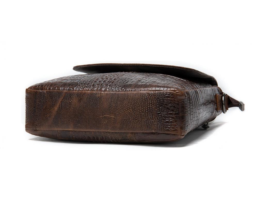 Коричневая сумка через плечо Tiding Bag 4010C - Фото № 5