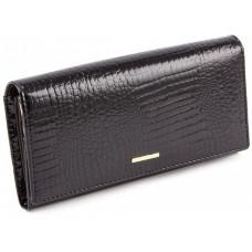 Чорний жіночий гаманець з лакової шкіри Marco Coverna 403-1010-1