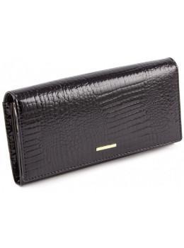 Чёрный женский кошелёк из лаковой кожи Marco Coverna 403-1010-1