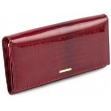 Красный лаковый кошелёк из натуральной кожи для женщин Marco Coverna 403-1010-2