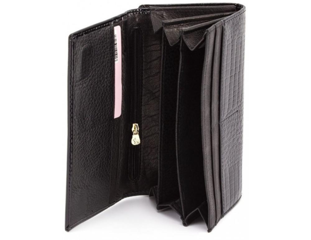Чёрный женский кошелек Marco Coverna 403-1011-1 - Фото № 2