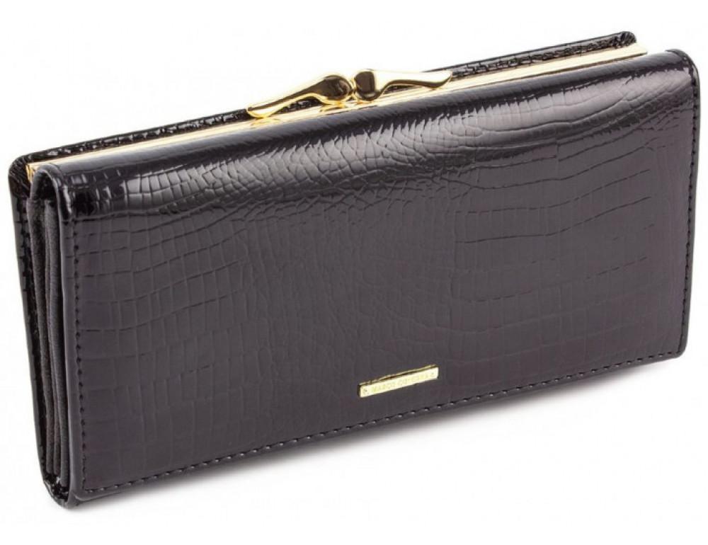 Чёрный женский кошелек Marco Coverna 403-1011-1 - Фото № 1