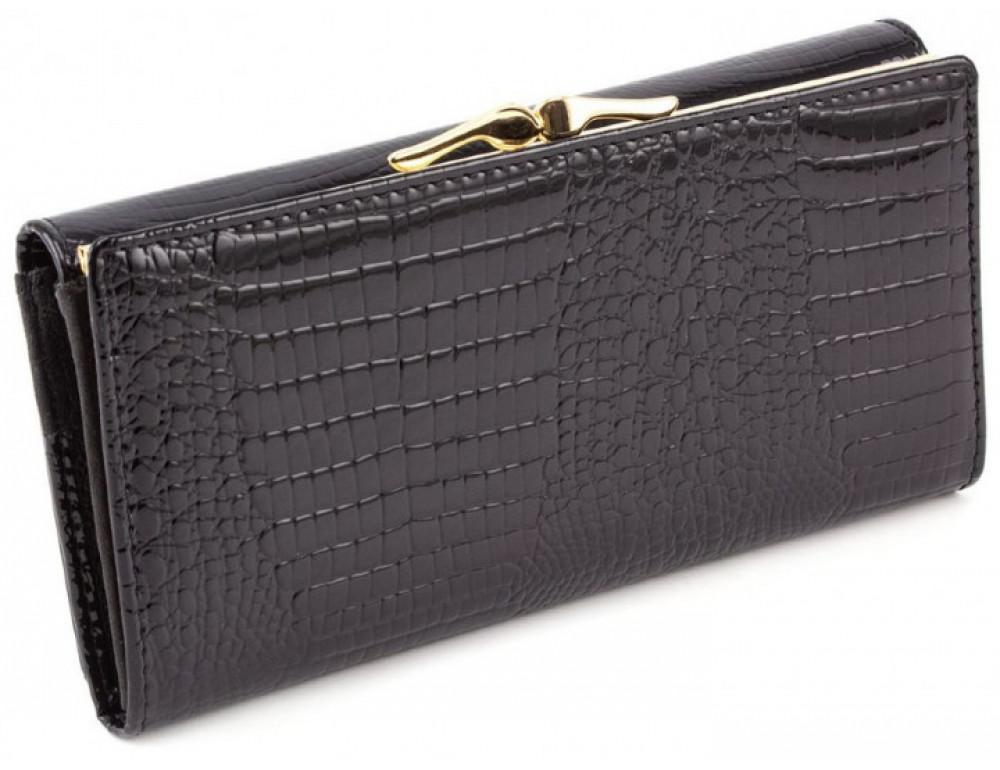 Чёрный женский кошелек Marco Coverna 403-1011-1 - Фото № 3