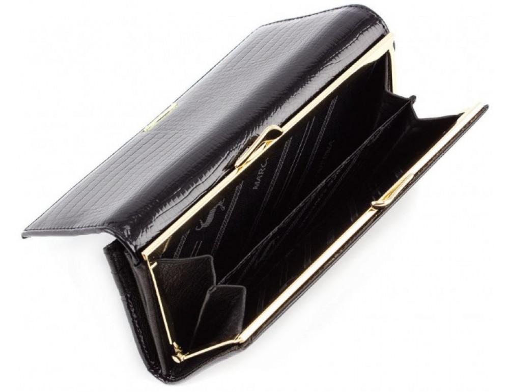 Чёрный женский кошелек Marco Coverna 403-1011-1 - Фото № 6