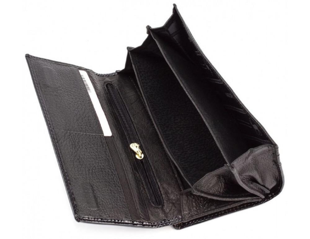 Чёрный женский кошелек Marco Coverna 403-1011-1 - Фото № 7