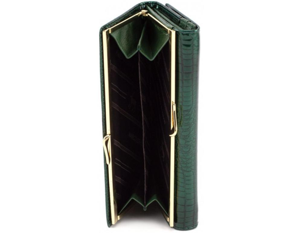 Зелёный женский кощелёк Marco Coverna 403-1011-7 - Фото № 8