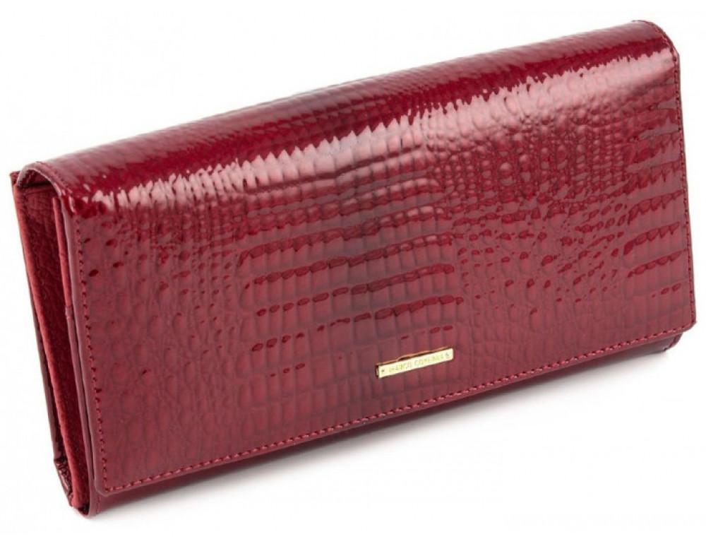 Красный лаковый кошелёк Marco Coverna 403-2480-2 - Фото № 1