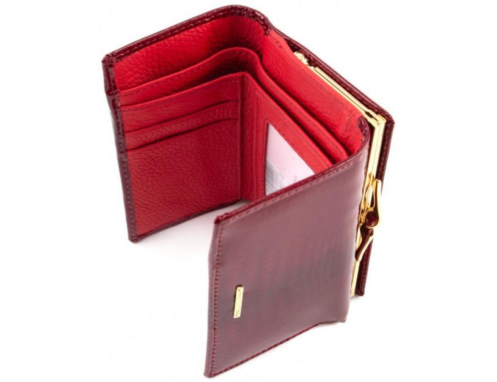 Красный лаковый кошелёк Marco Coverna 403-2490-2 - Фото № 2
