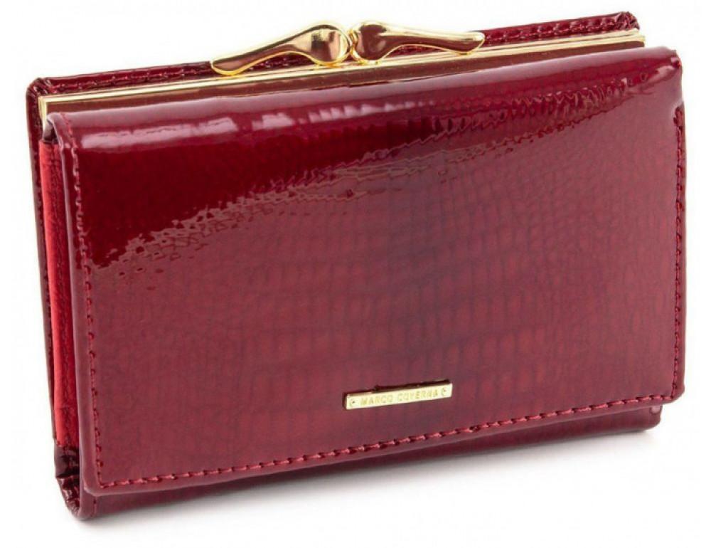 Красный лаковый кошелёк Marco Coverna 403-2490-2 - Фото № 1