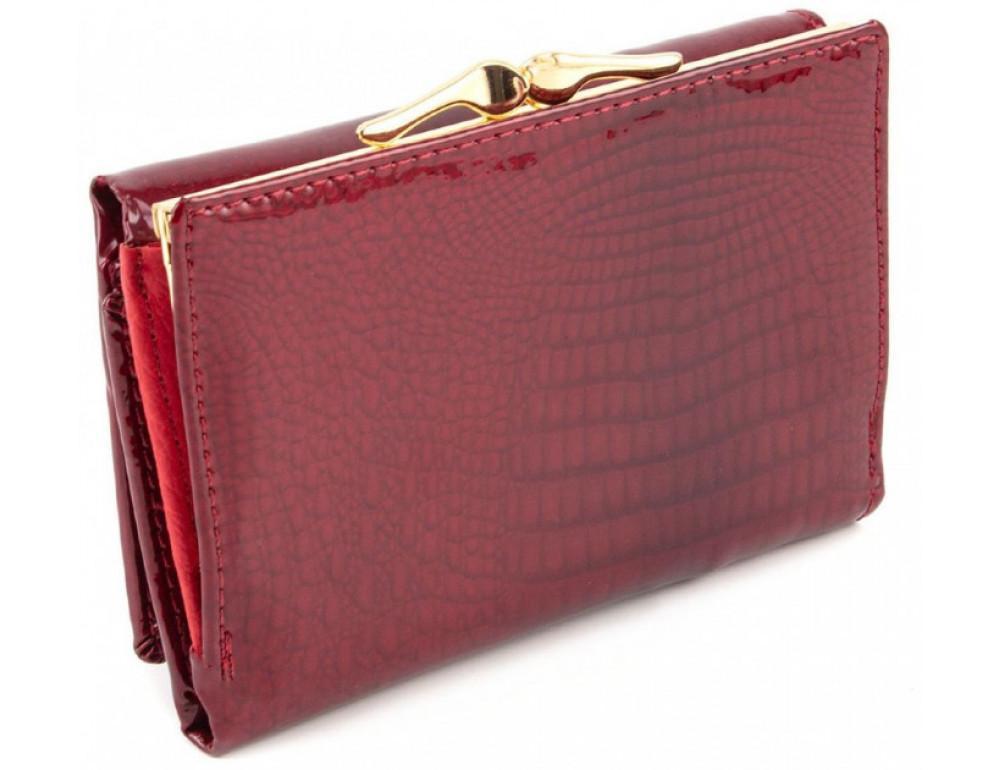 Красный лаковый кошелёк Marco Coverna 403-2490-2 - Фото № 3