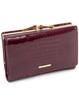 Бордовый лаковый кошелёк Marco Coverna 403-2490-4
