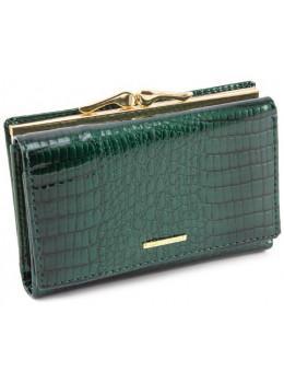 Зелёный лаковый кошелёк Marco Coverna 403-2490-7
