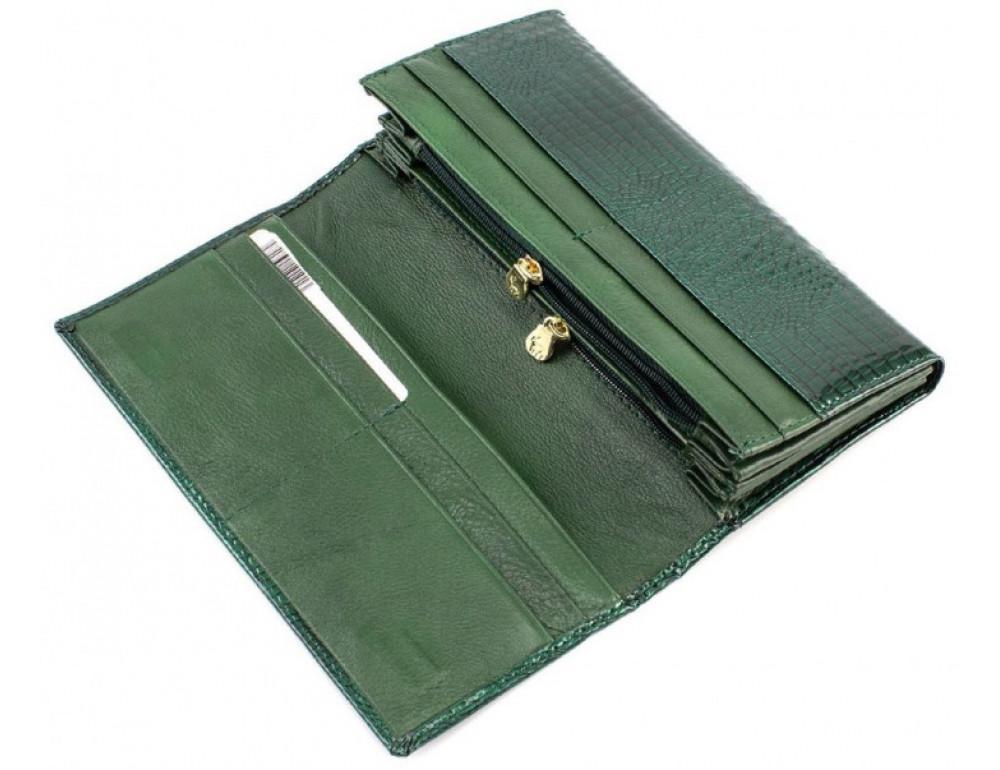 Зелёный женский кошелёк Marco Coverna 403-6061-7 - Фото № 2