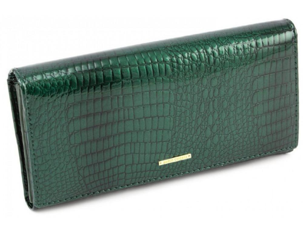 Зелёный женский кошелёк Marco Coverna 403-6061-7 - Фото № 1