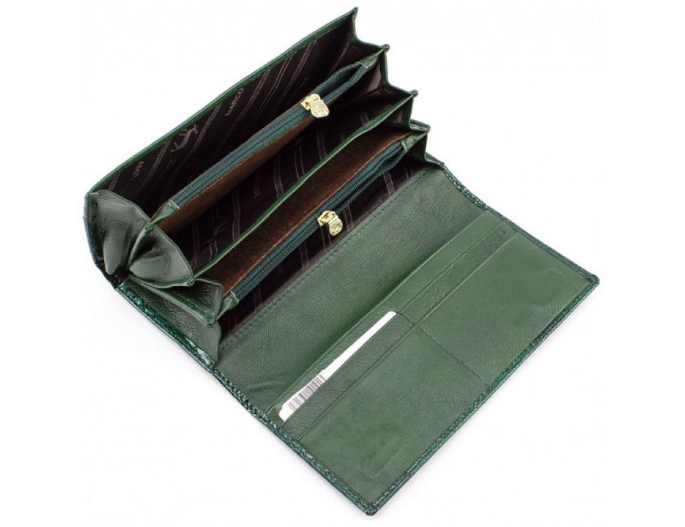 Зелёный женский кошелёк Marco Coverna 403-6061-7 - Фото № 5