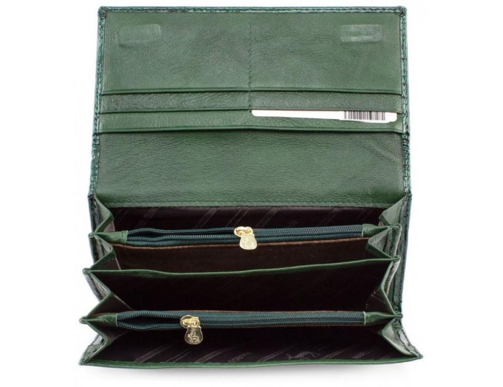 Зелёный женский кошелёк Marco Coverna 403-6061-7 - Фото № 6