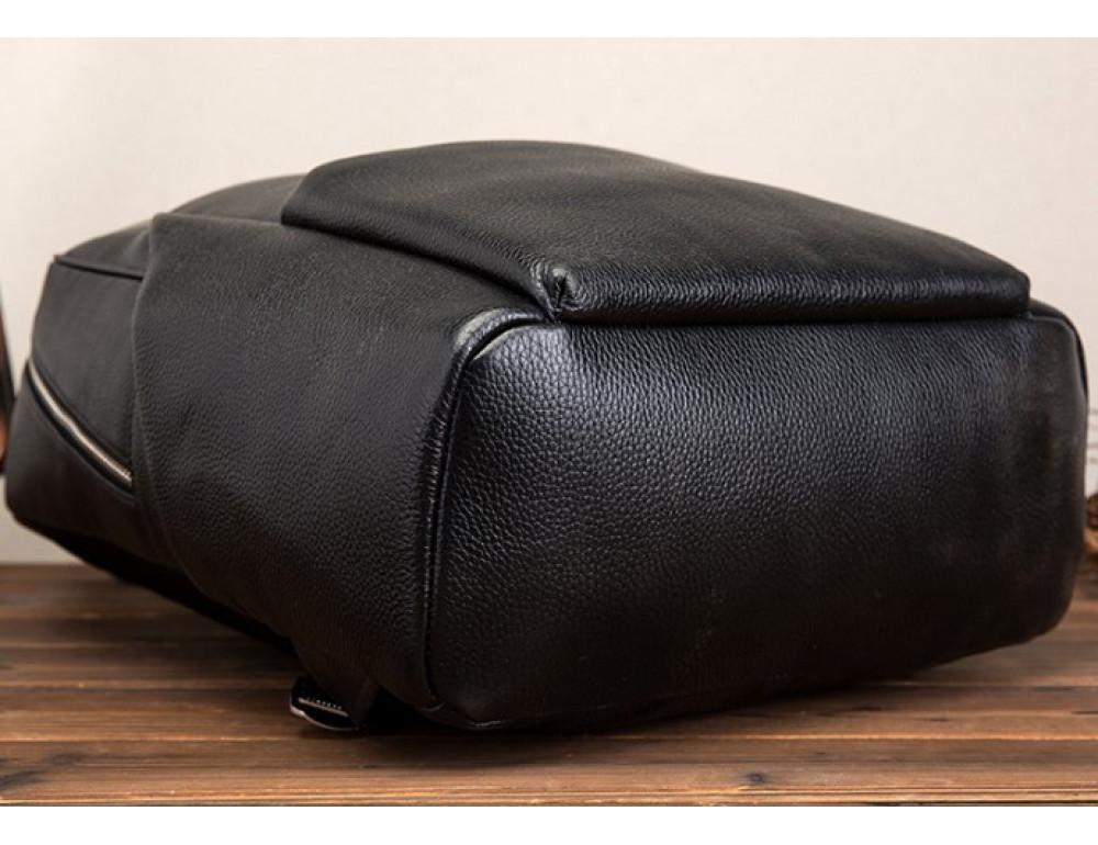 Кожаный рюкзак Tiding Bag 419A-19 Чёрный - Фото № 5