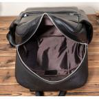 Кожаный рюкзак Tiding Bag 419A-19 Чёрный - Фото № 106