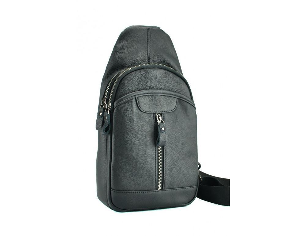 Стильная сумка через плечо из натуральной кожи JASPER MAINE 5007A - Фото № 2
