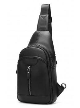 Стильная сумка через плечо из натуральной кожи JASPER MAINE 5007A
