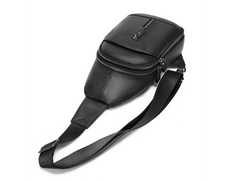 Стильная сумка через плечо из натуральной кожи JASPER MAINE 5007A - Фото № 5