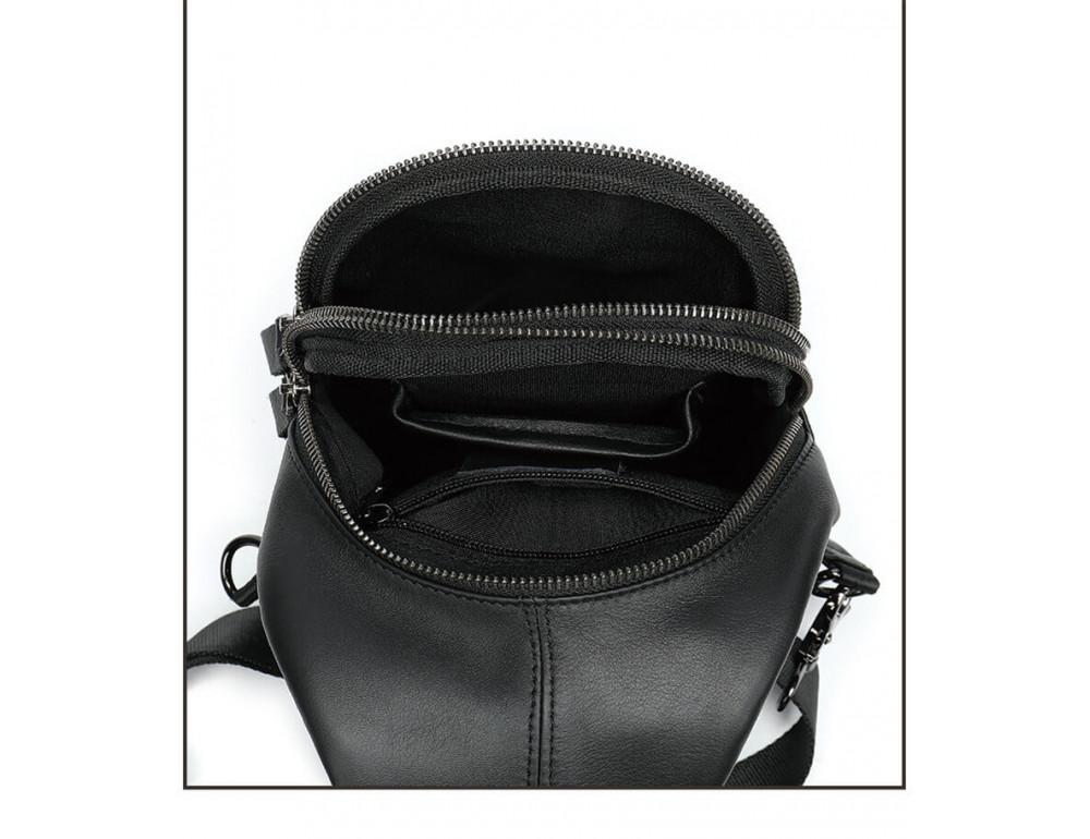 Стильная сумка через плечо из натуральной кожи JASPER MAINE 5007A - Фото № 8