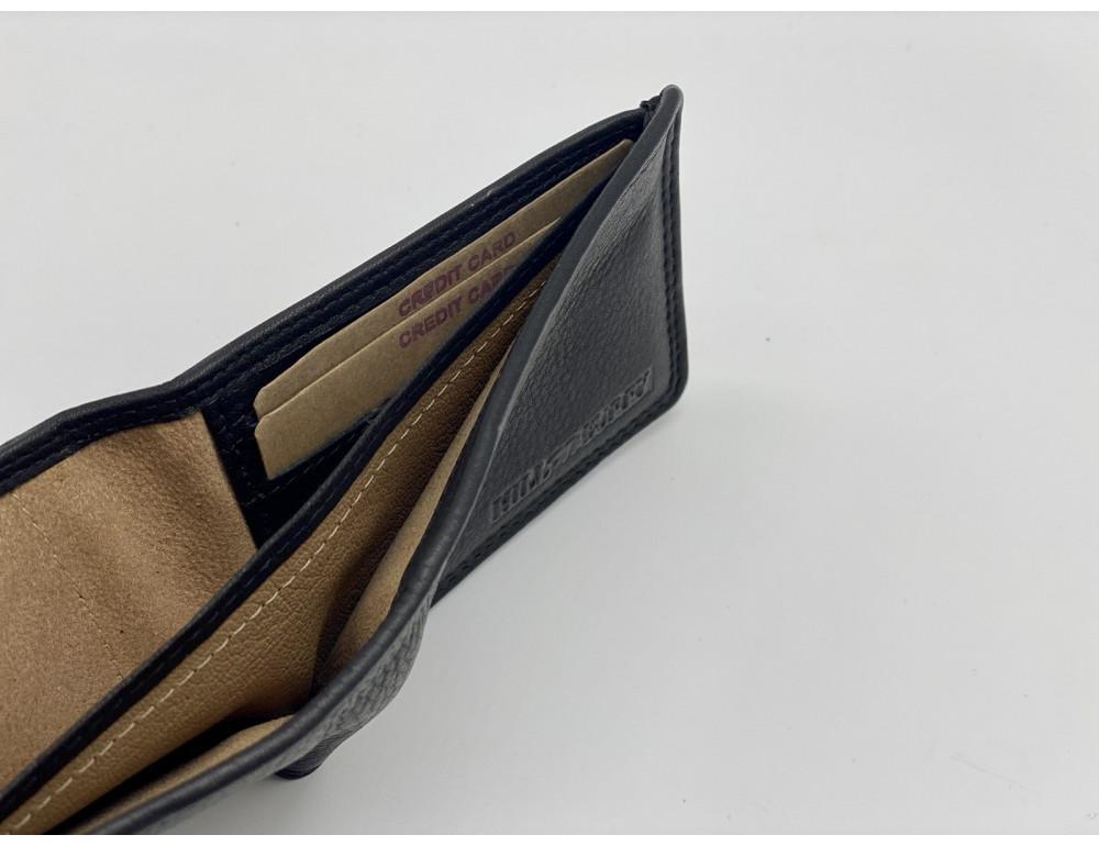 Чёрный кожаный портмоне мужской Hill Burry 5029WHBBlack - Фото № 5