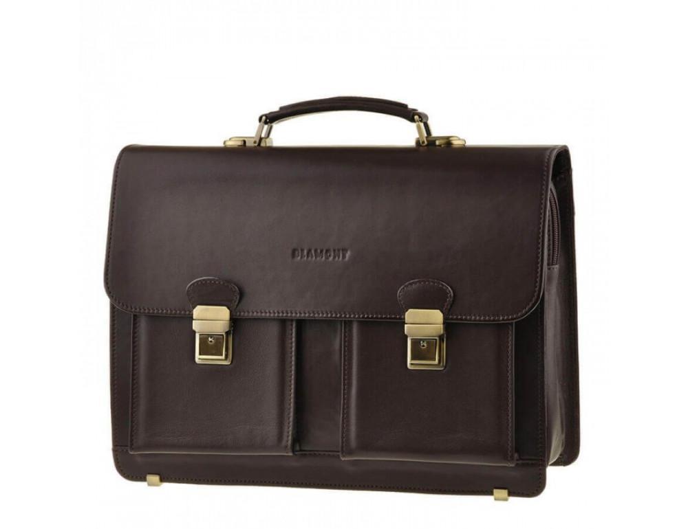 Мужской кожаный портфель Blamont Bn050C - Фото № 1
