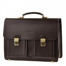 Мужской кожаный портфель Blamont Bn050C