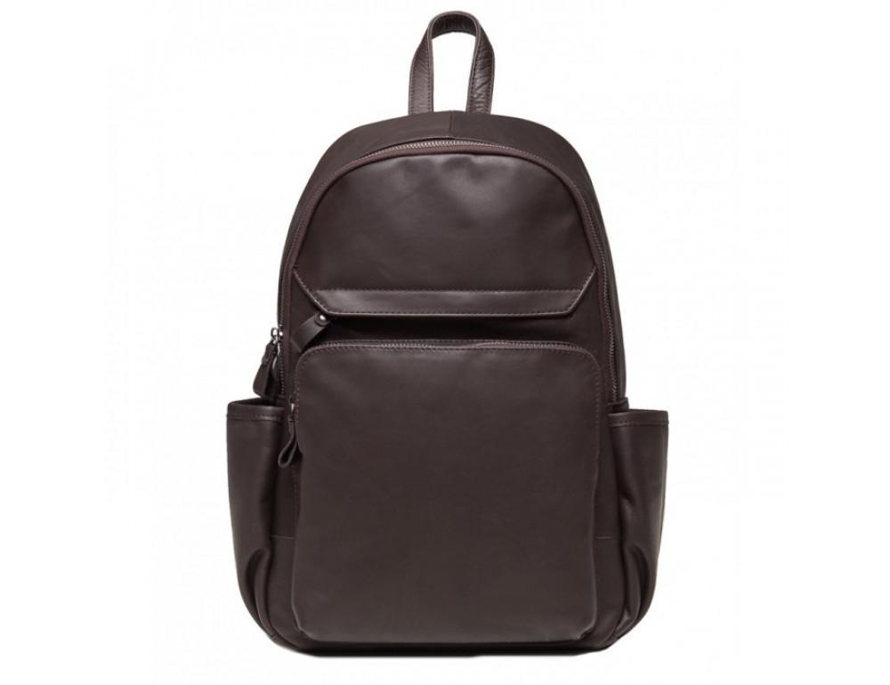 Кожаный рюкзак TIDING BAG 6020C коричневый - Фото № 2