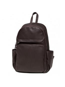 Кожаный рюкзак TIDING BAG 6020C коричневый