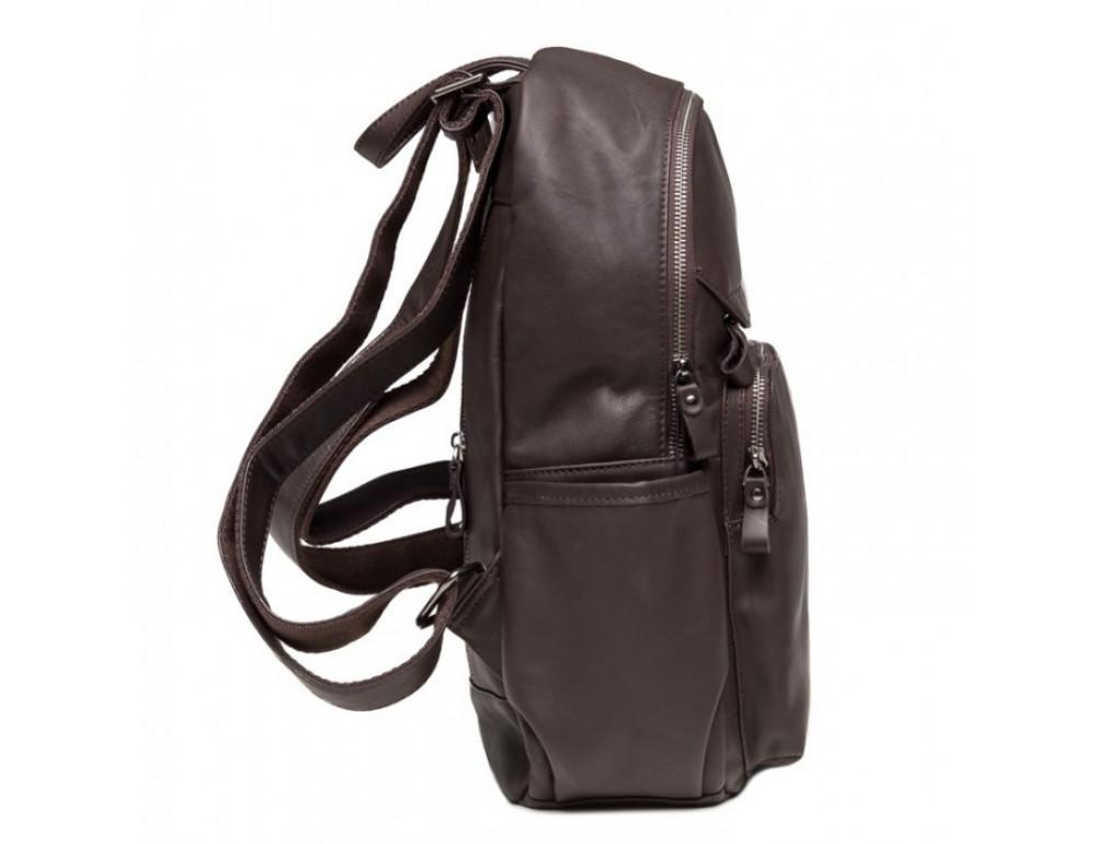 Кожаный рюкзак TIDING BAG 6020C коричневый - Фото № 3