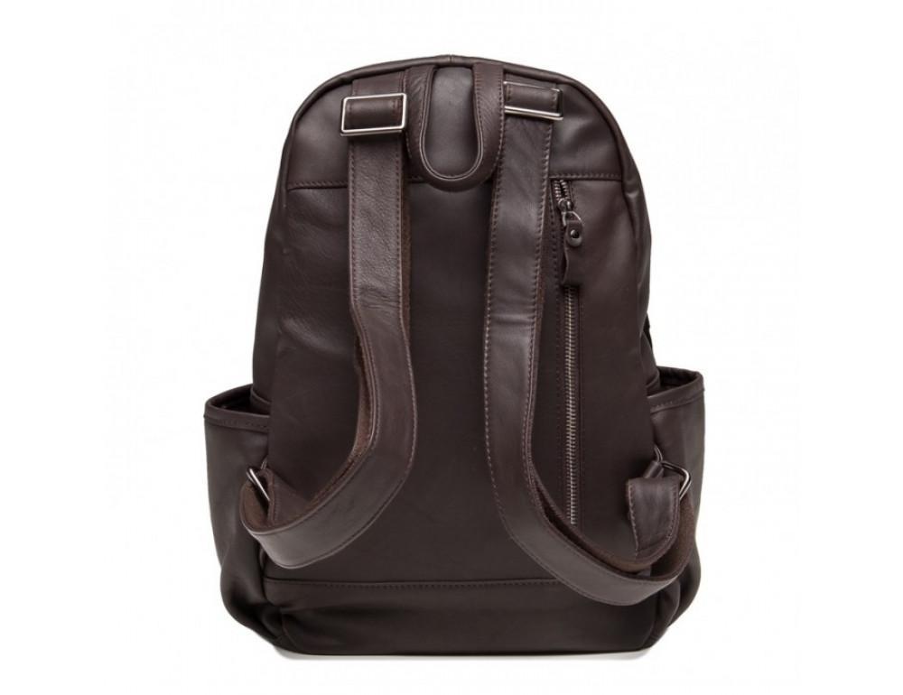 Кожаный рюкзак TIDING BAG 6020C коричневый - Фото № 4