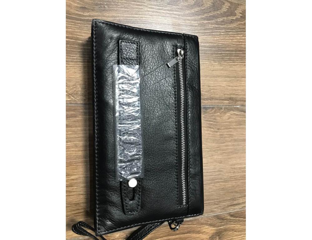 Мужской кожаный клатч Horton Collection M34-184A - Фото № 2