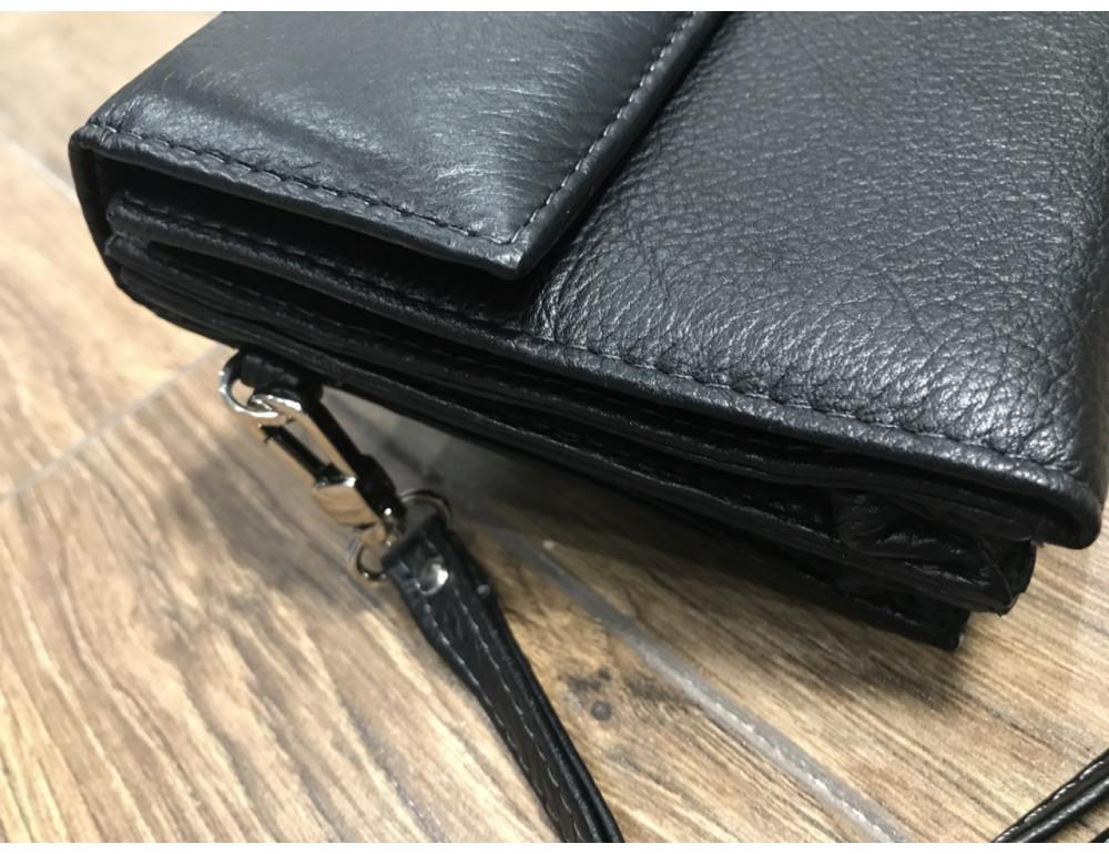 Мужской кожаный клатч Horton Collection M34-184A - Фото № 5