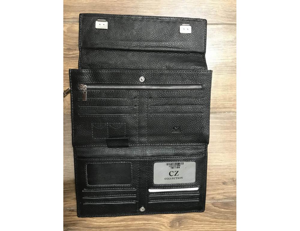 Мужской кожаный клатч Horton Collection M34-184A - Фото № 4